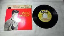 Ricky NELSON : Honey Rock / FRENCH EP BARCLAY 70.127 1957 sehr gut!