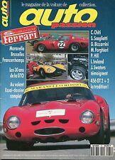French Auto Passion Magazine, Nov 1992 - Simca 12oo5, Ferrari