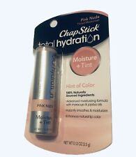 ChapStick Total Hydration Moisture+Tint, Pink Nude 0.12 oz Five (5) pack
