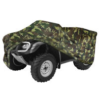 Camouflage Waterproof ATV Cover Universal Fit Yamaha Grizzly 350 400 450 550 660