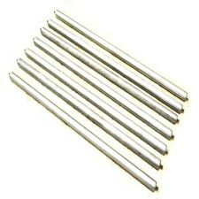 """(Lot of 7) Pro Hawk 53-1/4"""" x 2"""" Industrial Gravity Conveyor Rollers (52"""" B/F)"""