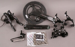 Campagnolo Record 12 Speed Road Bike Group 6 Piece Crankset Shifters Derailleurs