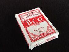 "54 Cartes à jouer "" BCG "" Club  Spécial N°92 Playing Cards"