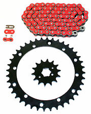 1999 2000 2001 2002 2003 Yamaha YFM350 350 Warrior Red Chain And Sprocket 14/40