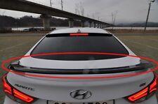 Rear Wing Spoiler Black color For HYUNDAI Elantra / Avante MD 2011 2015+