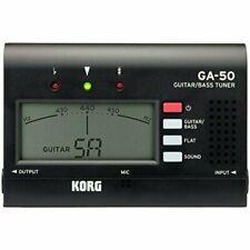 KORG tuner guitar / bass W100mm x D67mm x H17mm 81g GA-50 4959112175495