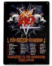 SLAYER ALLIANCE  TOUR 2006 TIN SIGNS METAL THRASH HEADBANGER Bar Gift ✔️