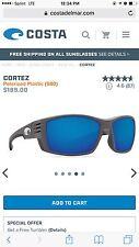 Costa Cortez Slate Grey Sunglasses
