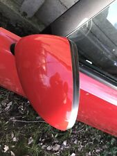 Vauxhall Corsa D Electric Wing Mirrors Pair Flame Red Z547 2006 - 2014 UEX029
