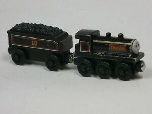 Thomas the Train and Friends Douglas Engine & Tender #10 Wooden Railway