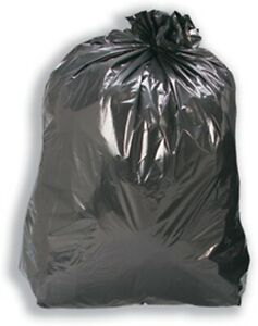 "Sacks Compactor 22.5x34x48"" (Qty 100) Large Black bags"