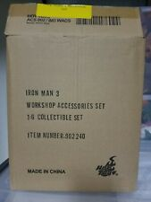 Hot Toys ACS002 Iron Man 3 Tony Stark's Workshop Set 1/6 Accessories pre owned