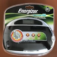 NUOVA BATTERIA RICARICABILE Universale Energizer Caricabatterie per AA AAA C D 9v Batterie