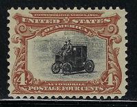 SCOTT 296 1901 4 CENT PAN-AMERICAN EXPOSITION ISSUE MH OG F-VF CAT $50!