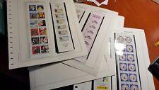 FRANCIA  Hojas Edifil  filoestuchadas  Carnets1/23 con carnets originales NL566