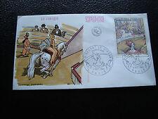 FRANCE - enveloppe 1er jour 8/11/1969 (seurat le cirque) (cy58) french