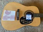 Richie Havens Woodstock Signed Autographed Acoustic Guitar Beckett Certified for sale