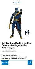 *PreOrder* 2020 GI Joe Classified Hasbro Pulse EXCLUSIVE Regal Cobra Commander