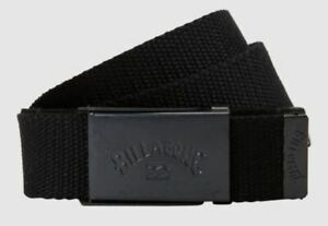 Billabong Woven Cotton Web Belt With Bottle Opener ~ Sergeant military