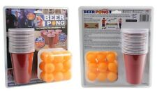 36 PIECE BEER PONG ULTIMATE TOURNAMENT KIT 18 BALL 18 CUPS ADULT DRINKING GAME