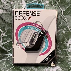 📀 X-Doria - Defense Edge 360x  for Apple Watch - 42mm - Clear