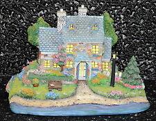 Thomas Kinkade Candlelight Cottage Sculpted Night Light Painter of Light Nib