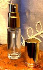 One Refillable Perfume Spray Empty Glass Bottle Purse Atomizer 1/6 oz/5ml New