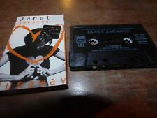 1995 CASSETTE SINGLE RUNAWAY/ WHEN I THINK OF YOU BY JANET JACKSON-VG CON.