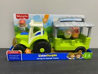 Fisher-Price CARING FOR ANIMALS TRACTOR New & Sealed Little People Age 1-5 Sound
