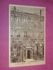 Il Palazzo di Heidelberg di Enrico Ottone in Germania