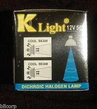 x3- 50 Watt MR16 Halogen 12V 50W Spot Light EXT Bulbs Dichroic Cool Open Type 3