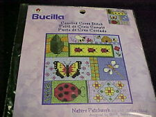 Bucill Counted Cross Stitch Expressions Nature Patchwork Ladybug Butterfly Bee