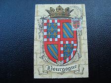 FRANCE-carte 31/10/1953 24eme foire gastronomique dijon(blason)(cy12)french(Y)