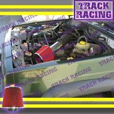 99 00 01-04 JEEP GRAND CHEROKEE LAREDO 4.0L I6 4.7L V8 AIR INTAKE KIT Red S