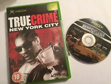 2 ORIGINAL XBOX GAMES WRECKLESS THE YAKUZA MISSIONS + True Crime: New York City