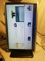 SUPER#1 ROTATES TO PORTRAIT ! Display Port /DVI/VGA USB HP LA2205WG LCD Monitor