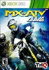 MX vs ATV Alive XBOX 360 PLATINUM NEW! RACE, MUD, DIRT, MOTORCROSS, BIKES, MTX