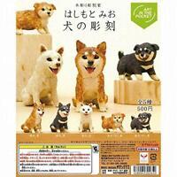 Kitan Club Mio Hashimoto Dog sculpture Gashapon 5 set mini figure capsule