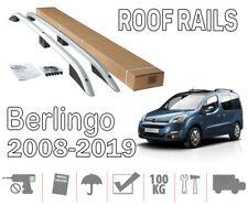 Barres de toit longitudinales Citroen Berlingo II 9/2007>2018 aluminium EN STOCK