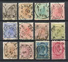 SSAU 064 AUSTRIA 1890 USED Mich 50 - 62