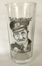ON THE BUSES Inspector Blakey PINT SIZE BEER GLASS British Television Comedy