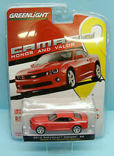 341 GREENLIGHT / GL MUSCLE / CHEVROLET CAMARO SS HONOR & VALOR EDITION 2012 1/64