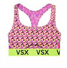 NWT Victoria's Secret VSX Sport The Player Racerback Sport Bra Neon Multi  L