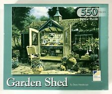 "Great American Puzzle Factory ""Garden Shed"" Over 550 Pieces Jigsaw Puzzle 18X24"""