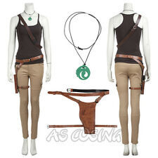 Tomb Raider Lara Croft Cosplay Costume Movie Costume All Size