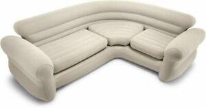Intex Inflatable Corner Sofa 2.57m x 2.03m x 76cm