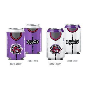 Toronto Raptors Hardwood Classic Retro Logo NBA Basketball Reversible Can Cooler