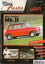 MAXI AUSTIN 18 MINI COOPER MK2 COOPER S MK2 La CHARLATTE (MINI MOKE) MINI MARCOS