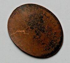 CANADA Elizabeth II (1953-1964 era 1 Cent) Coin - train track flattened penny