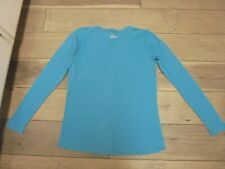 Old Navy Maternity aqua long sleeve t-shirt size S sold as is